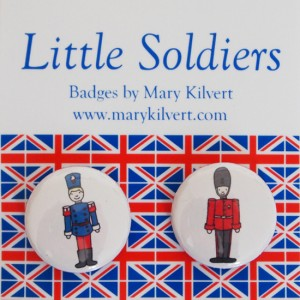 Mary Kilvert - Little Soldiers Badges