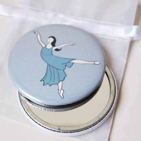 ballerina pocket mirrors