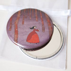Lost in the Wood Pocket Mirrors
