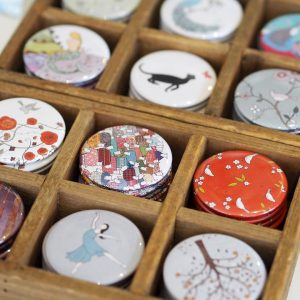 Pocket Mirrors by Mary Kilvert