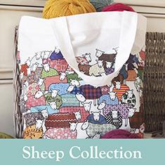 Mary Kilvert Colourful Sheep Bag