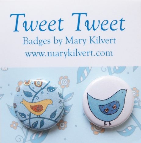 Mary Kilvert - Tweet Tweet Badges