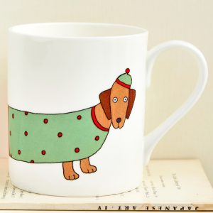 Mary Kilvert - Larry the Long Dog Mug