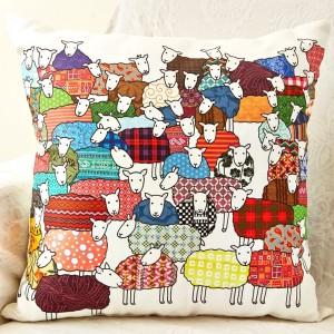 Mary Kilvert - Sheep Cushion