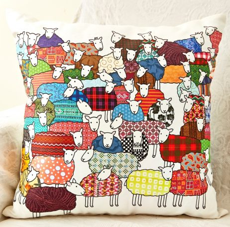 Mary Kilvert - Sheep Cushion