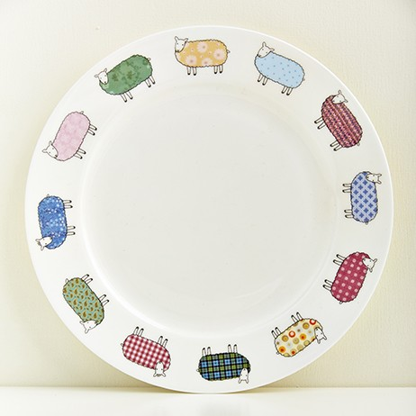Mary Kilvert Bone China Sheep Plate