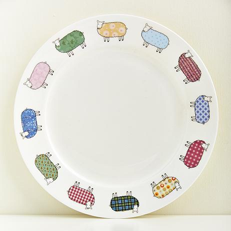 Mary Kilvert Bone China Sheep Plate