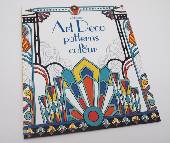 Book Cover Art Deco : New art deco patterns to colour book mary kilvertmary