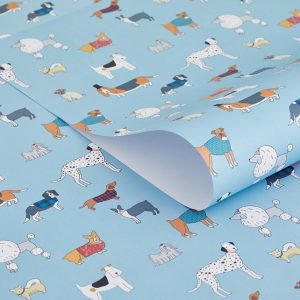 Mary Kilvert Dog Pattern Gift Wrap