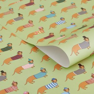 Mary Kilvert Long Dog Gift Wrap