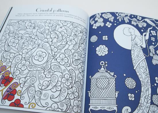 Art Deco Patterns To Colour Book