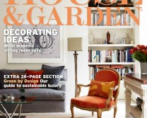 House and Garden Magazine Cover
