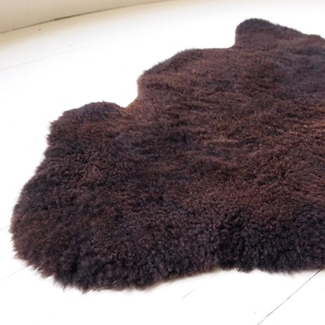 Brown Sheepskin Rug