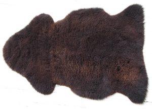 Brown Sheepskin Rug
