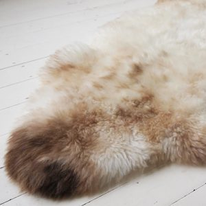 Mottled Sheepskin Rug