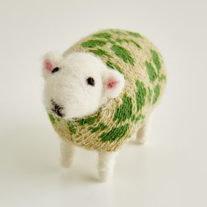 Clover Felted Sheep