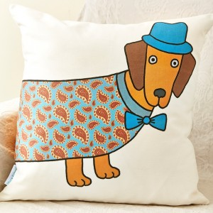 Mary Kilvert - Long Dog Cushion