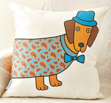 Mary Kilvert - Long Dog Cushion
