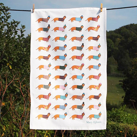 Mary Kilvert Larry the Long Tea Towel