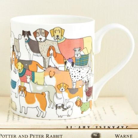 Mary Kivert - Pack of Proud Pooches Mug
