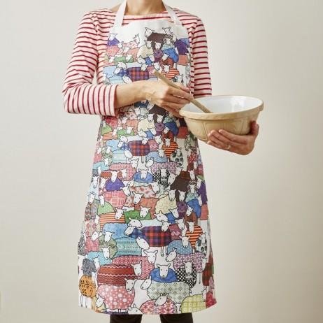 Mary Kilvert - Colourful Sheep Apron