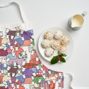 Colourful Sheep Apron by Mary Kilvert