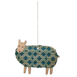 Blue Sheep Decoration