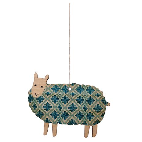 Blue Sheep Decoration