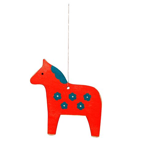 Mary Kilvert Dala Horse Decoration