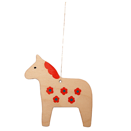Mary Kilvert Dala Horse Decoration