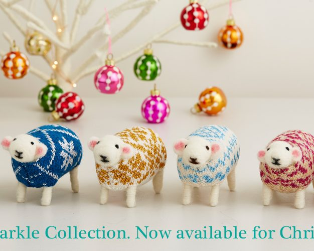 Mary Kilvert Christmas Sheep