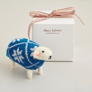 Mary Kilvert - Snowflake the Sheep