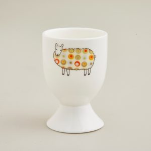 Mary Kilvert Green Spot Sheep Egg Cup