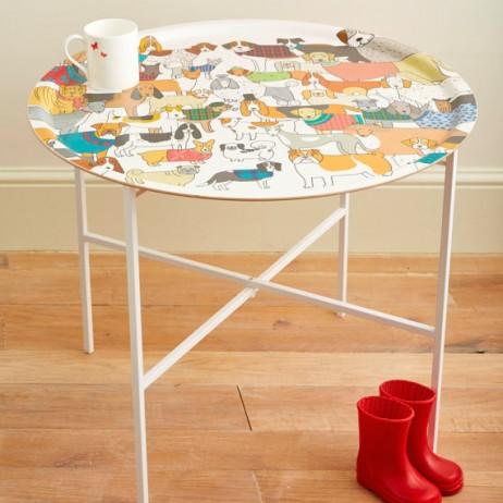 Mary Kilvert Dog Tray Table