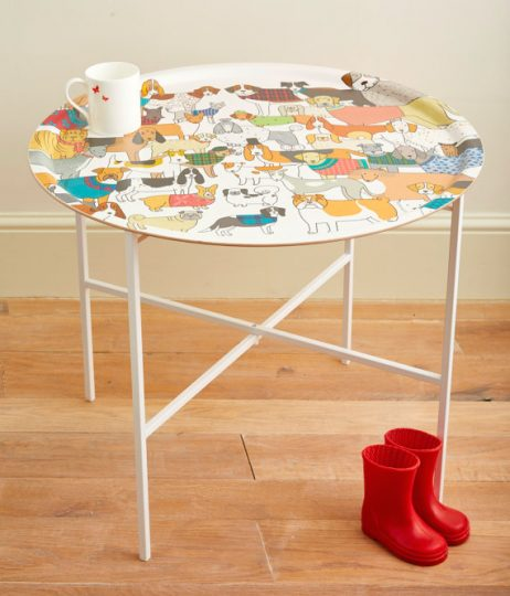 Mary Kilvert Dog Tray Table