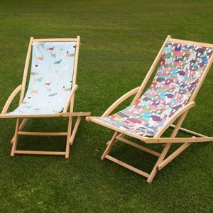 Mary Kilvert - Sheep and Doggy Deck Chairs