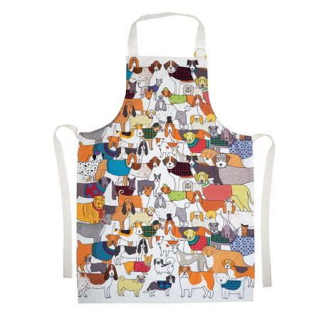 Pack of Proud Pooches Apron by Mary Kilvert