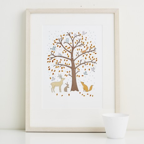 Mary Kilvert - Winter Fine Art Print