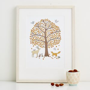 Mary Kilvert - Autumn Fine Art Print
