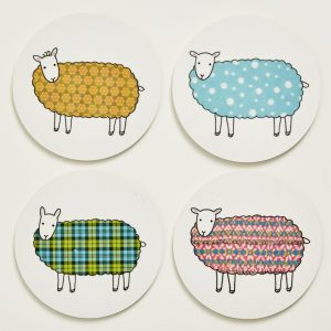 Mary Kilvert - Sheep Coasters