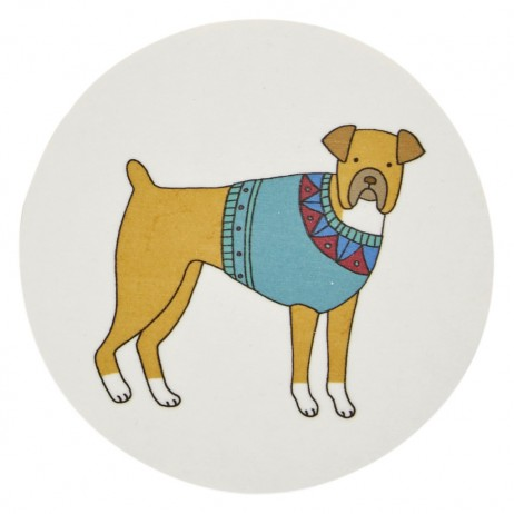 Mary Kilvert - Pooches Coaster