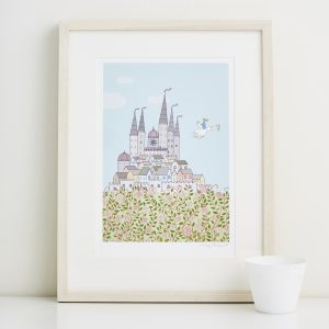 Mary Kilvert - Magic Castle Fine Art Print