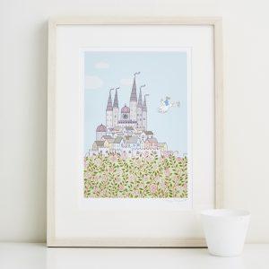 Mary Kilvert - Magic Castle Fine Art Print