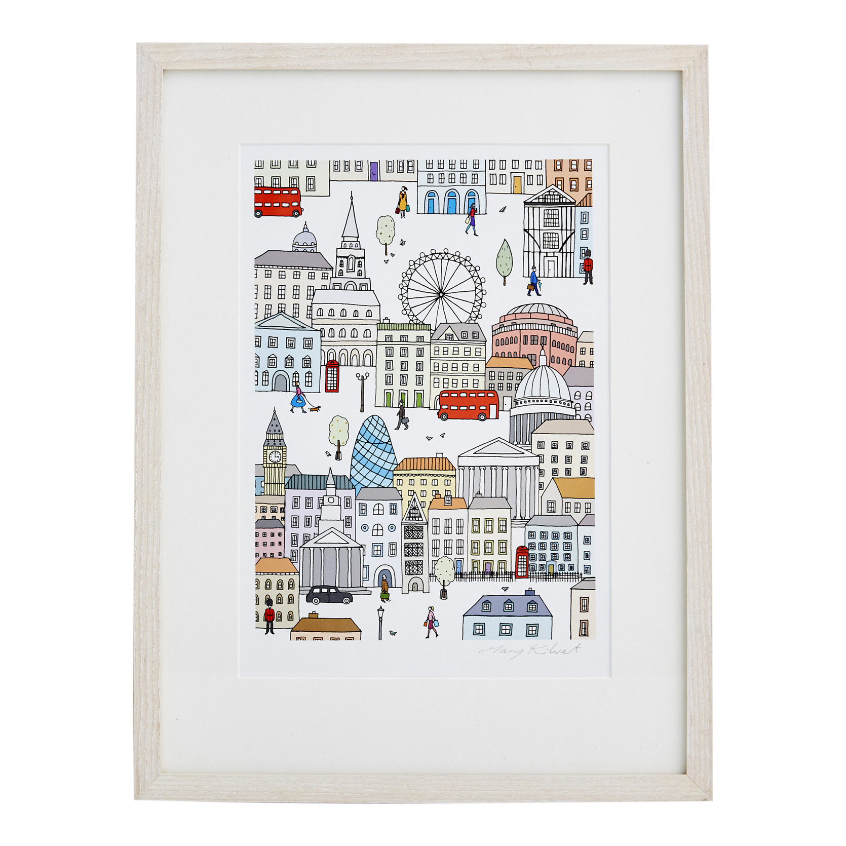 London Town Fine Art Print Mary Kilvertmary Kilvert
