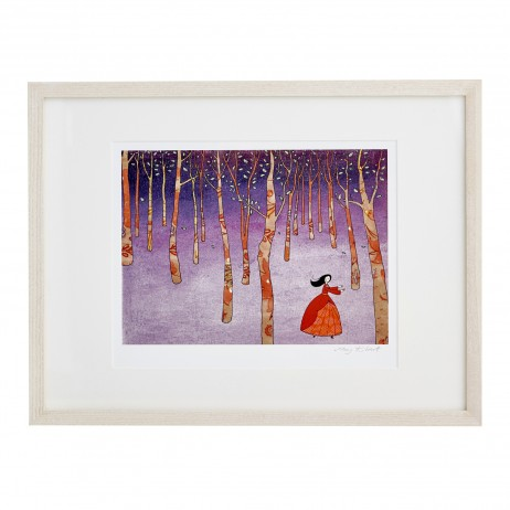 Mary Kilvert - Lost in the Wood Fine Art Print