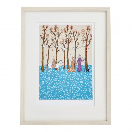 Mary Kilvert - Magic Wood Fine Art Print