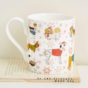 Mary Kilvert - Christmas Canines Mug