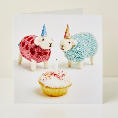 Mary Kilvert - Birthday Cake Greeting Card