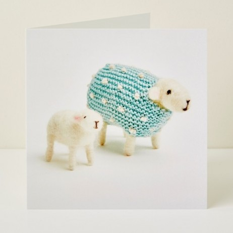 Mary Kilvert - Pearl and Lamb Greeting Card