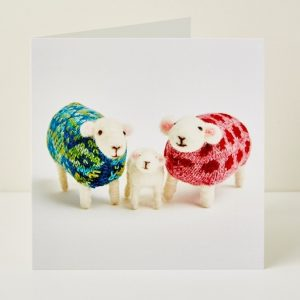 Mary Kilvert - New Lamb Greeting Card